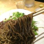 汁なし担担麺ピリリ - 黒胡麻担々麺880円