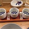 居酒屋おかん - ドリンク写真:利き酒セット  1050円