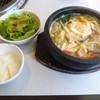じゅうじゅうカルビ - 料理写真:石焼海老塩らーめんランチ