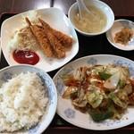 揚子江 - 料理写真:回鍋肉ランチ