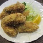 松榮亭 - 牡蠣フライ、立派~
