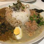 アジアンキッチン オオツカレー - あいがけ