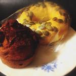 オープンオーブン - チョコチップマフィンと栗カボチャのベーグル