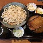 あじめん - 「うどんとカツカレー丼のセット」1026円