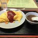 いち福 - オムライス 900円