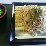 うぐいす - 料理写真:ざるそば450円(税込)