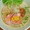 暁 製麺 - 料理写真:五徳味噌らぁ麺740円ベースの出汁が強くあるので力弱さは感じません。味噌の良いところを出してます。