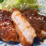 とんかつ岩松 - 和風ステーキ定食(ランチ)