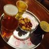 バーバー東京 - 料理写真:選べる4種テイスターセット 富士桜高原麦酒ピルス、常陸野ネストビール ホワイトエール、アウグスIPA、東京ブラックリアルエール