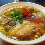 58737121 - 辛口炙り肉ソバ『醤油』