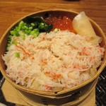 北海道厚岸 - 蟹わっぱめしUP