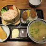 北海道厚岸 - 蟹わっぱめし
