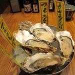 北海道厚岸 - 生牡蠣4種盛り