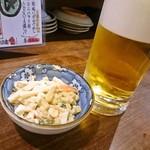 徳田酒店 御肉 - マカロニサラダ