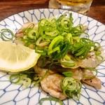 徳田酒店 御肉 - 鹿児島県産豚バラのぽん酢炒め