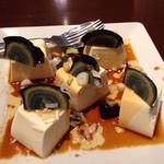 中華料理 珍味楼 - ピータン豆腐¥680