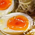 麺のようじ - 鶏塩らーめん(煮玉子)