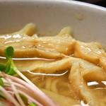 麺のようじ - 鶏塩らーめん(メンマ)