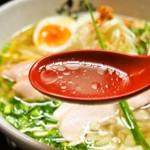 麺のようじ - 鶏塩らーめん(スープ)
