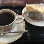 カフェ・カルディー - ケーキセット@580円