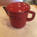 蕎麦茶屋 和久 - 蕎麦湯