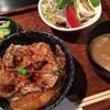 ブタリアンレストラン - 料理写真:ミニ豚丼セット《925yen》