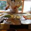 千薫庵 - 料理写真:まず野菜から