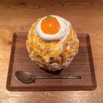 氷屋ぴぃす - みかんちゃんレアチーズ