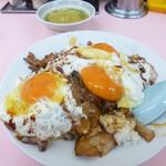 重松飯店 - 料理写真:焼豚玉子飯(中)(