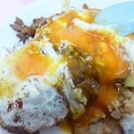 重松飯店 - 料理写真:焼豚玉子飯アップ