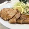 源氏食堂 - 料理写真:ブタ肉塩焼きライス1,100円