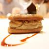 カンテサンス - 料理写真:ハンガリー産フォアグラと丹波和栗のエクレア