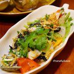 ニャーヴェトナム - シーフードと青菜のオイスターソース炒め