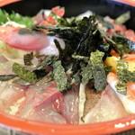 郷の鮨 たむら - 郷の鮨たむら・海鮮丼¥1,000(2016.04)
