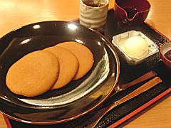 松崎煎餅 お茶席