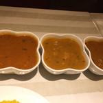 リトルインディア - 3種カレー