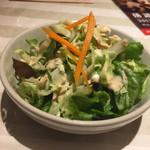 リトルインディア - お通しのサラダ