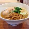 煮干しそば 虎空 - 料理写真:味玉煮干しそば(大盛り)850円(横)