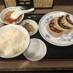 58812263 - 餃子定食(3個) ¥640-