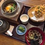 こめ太郎 - かき釜めし御膳(税抜1,400円)