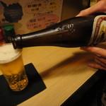 すみれ - キリンかサッポロ、ビールは大瓶のみ