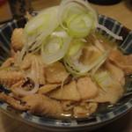 すみれ - 鶏皮の味噌煮込み(450円)