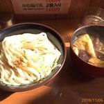 四方吉うどん - きのこ汁うどん並780円