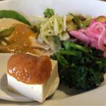 ねき - 料理写真:ランチのおばんざい