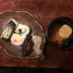 土佐料理 祢保希 - 焼鯖寿司と土佐田舎寿司