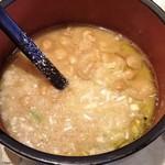 58821955 - 七蔵特製スープ