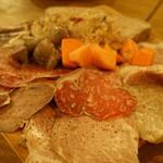 ラピヨッシュ - 肉屋の前菜(1800円)