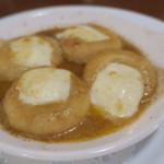 カフェ ブル - 里芋のニョッキ アンチョビ・バター、とろけるモッツァレラ・チーズ2