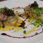 カフェ ブル - 鴨のフォアグラと胸肉のロースト2
