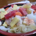鮨源 - 最近の海鮮あられ・接近